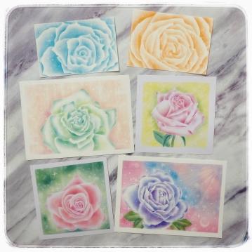 空氣玫瑰粉彩藝術課程報名連結