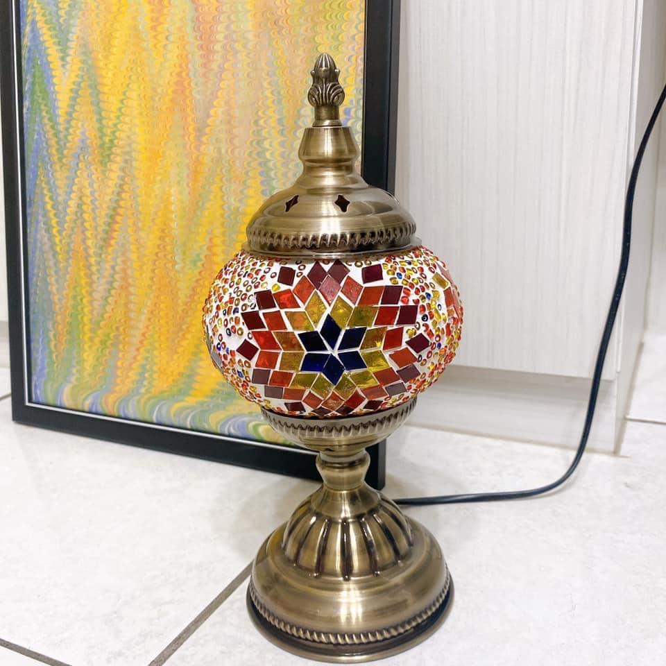 【Ebru延伸藝術手作】土耳其馬賽克燈