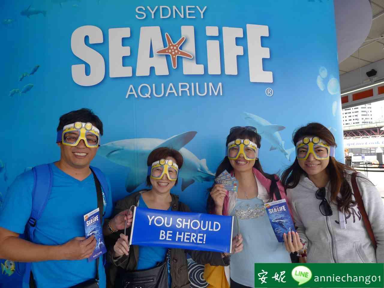 【澳洲 雪梨】Sydney Sealife Aquarium 水族館