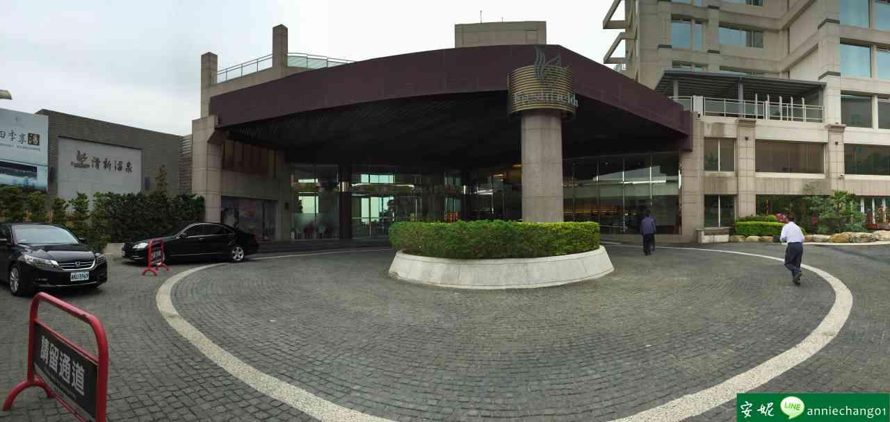 【台中】 清新溫泉飯店景餐廳