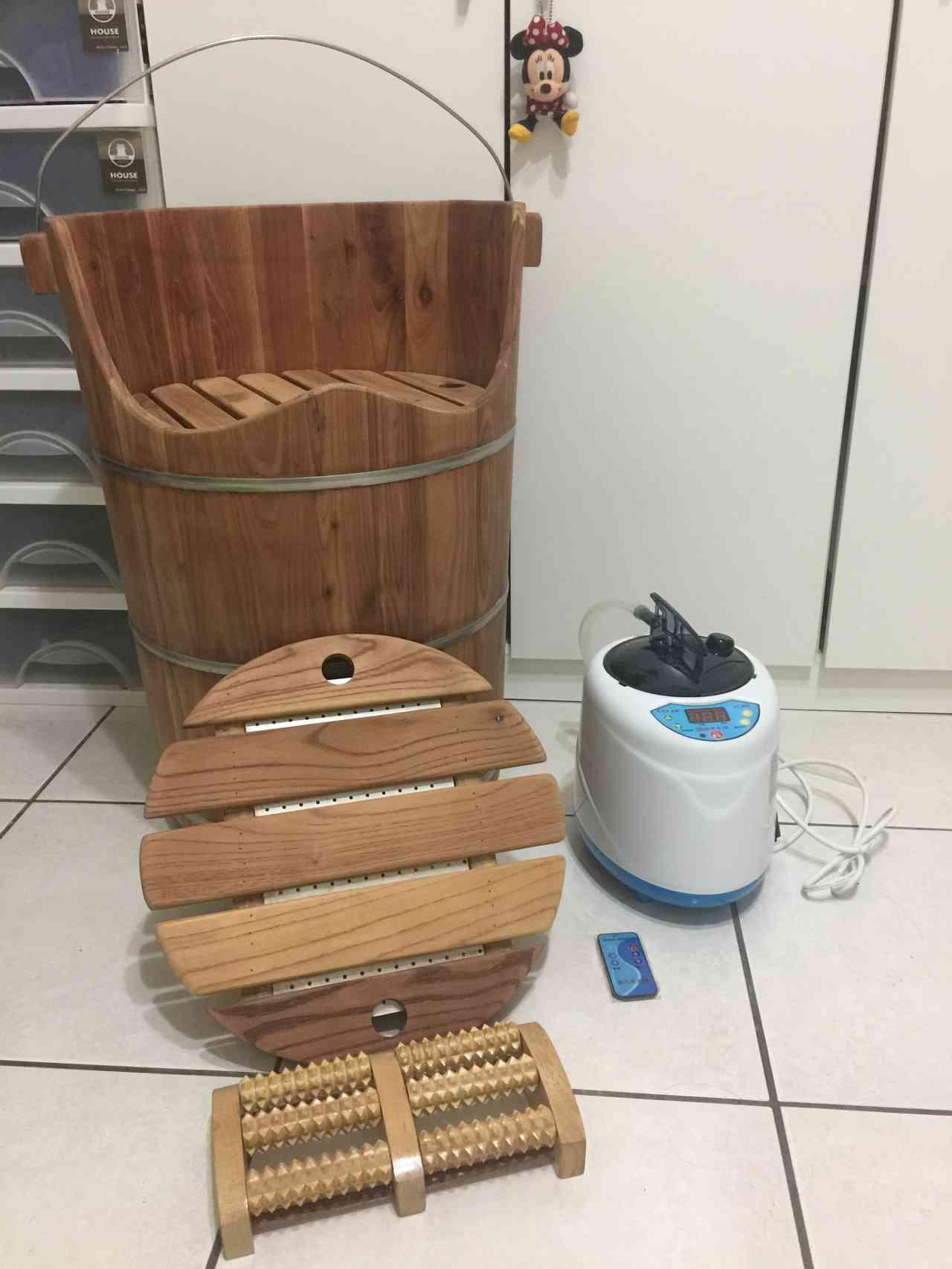 【敗家】雅典蒸足桶開箱體驗