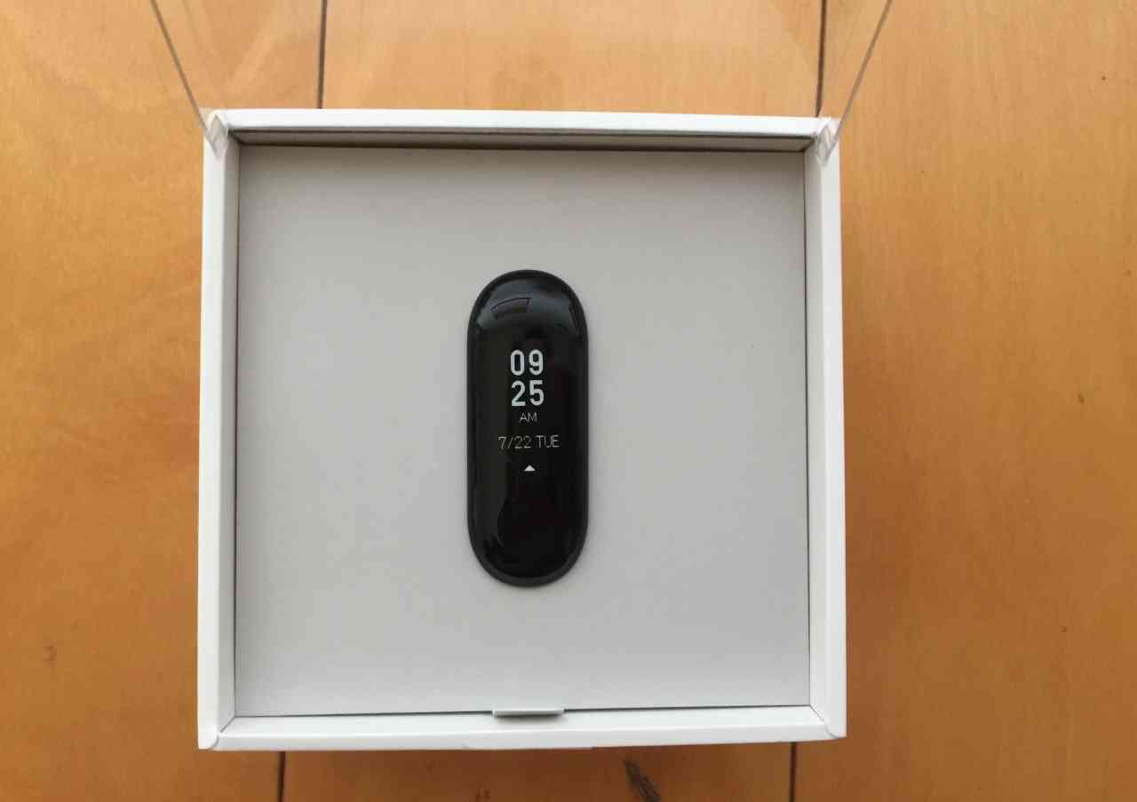 【開箱】小米手環3
