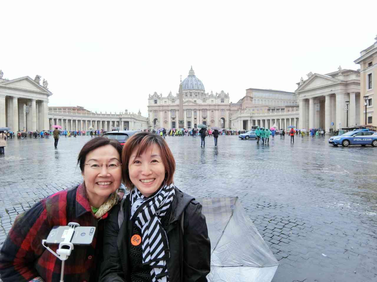 【郵輪 巴塞隆納】Day10 Civitavecchia  羅馬/梵蒂岡