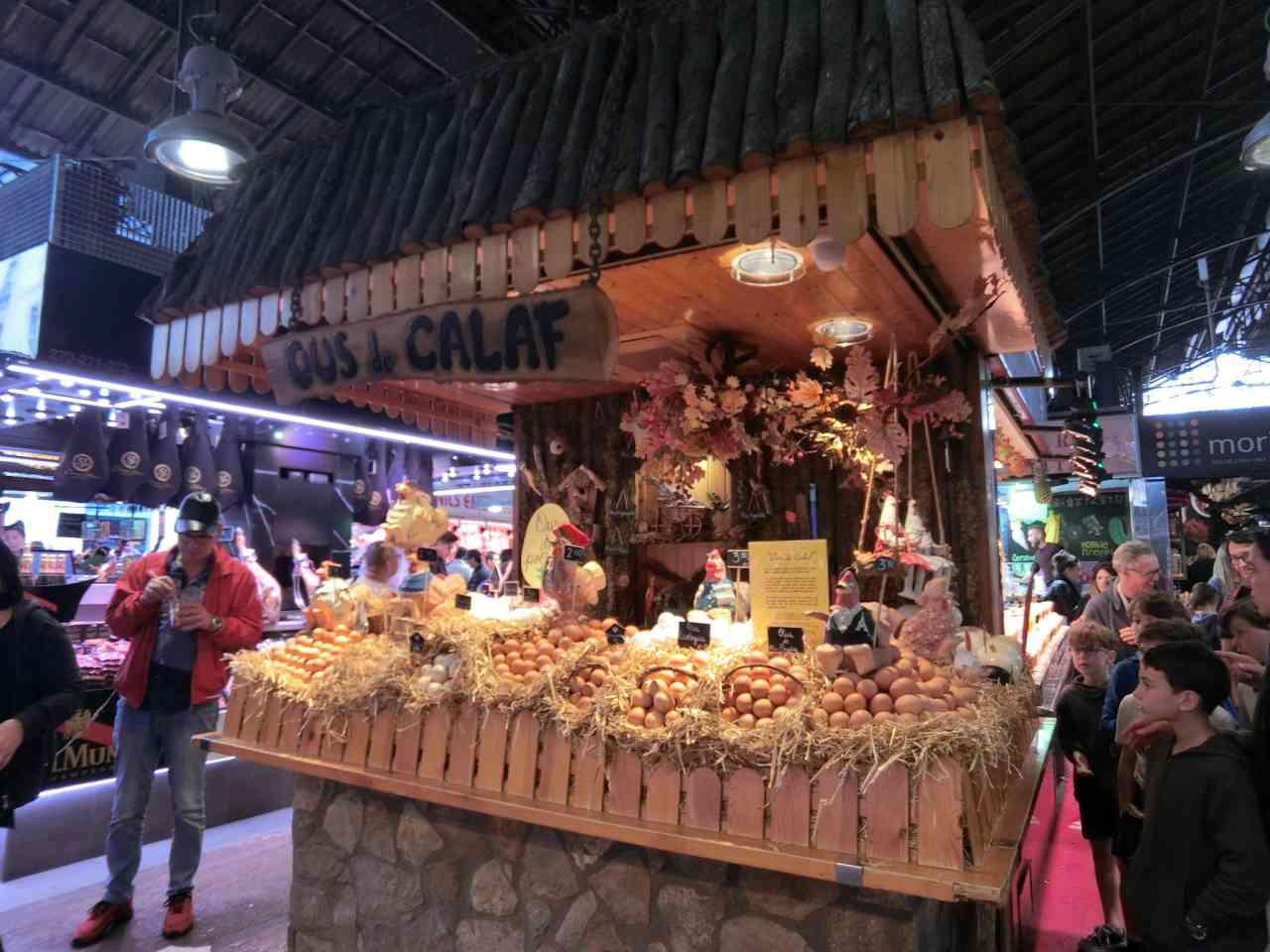【西班牙 巴塞隆納】布克利亞市場Mercado de La Boqueria