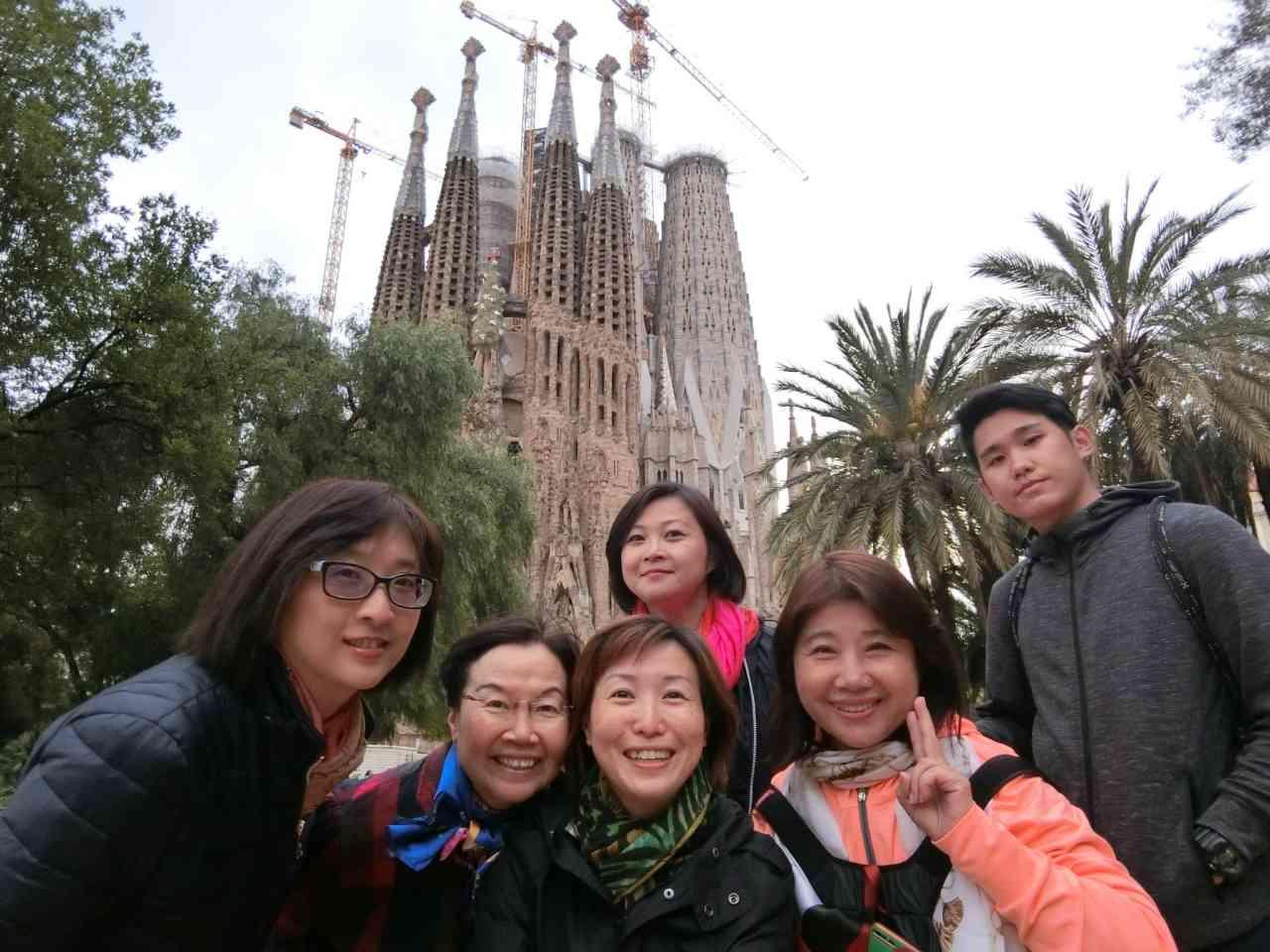 【西班牙 巴塞隆納】聖家堂 La Sagrada Familia