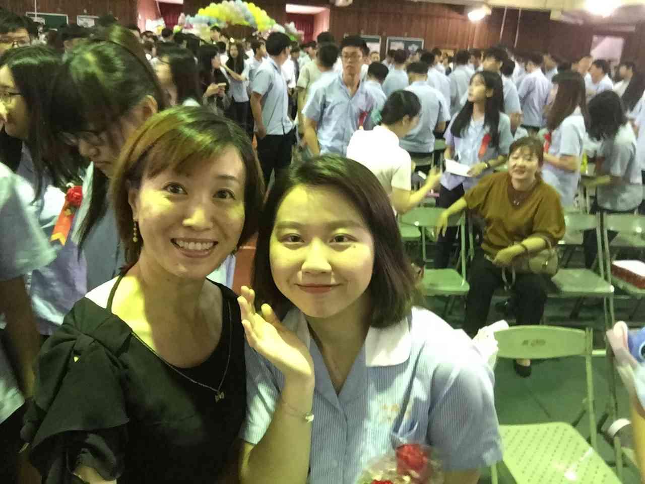 【媽媽經】女兒畢業了