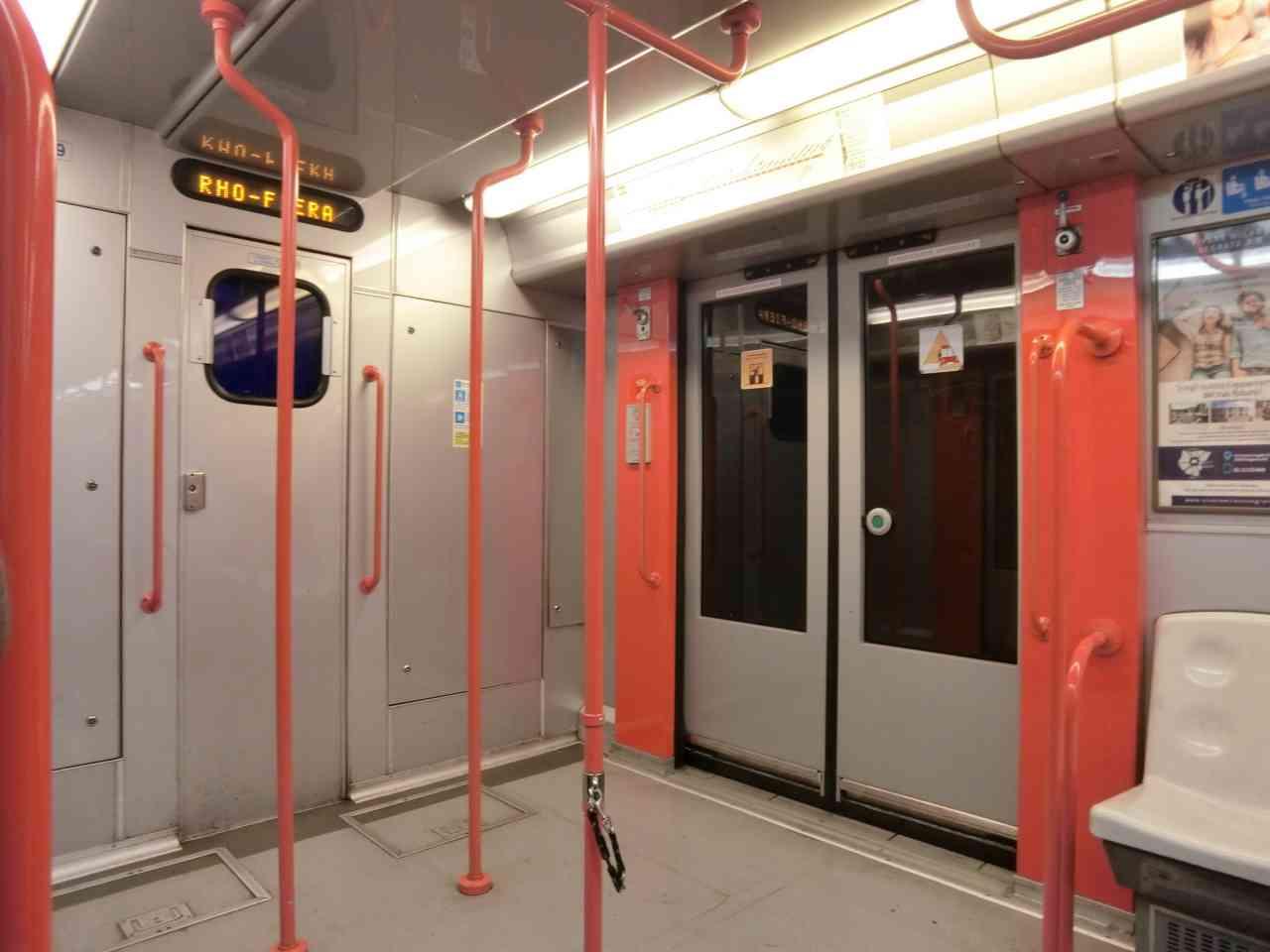 【義大利 米蘭】地鐵