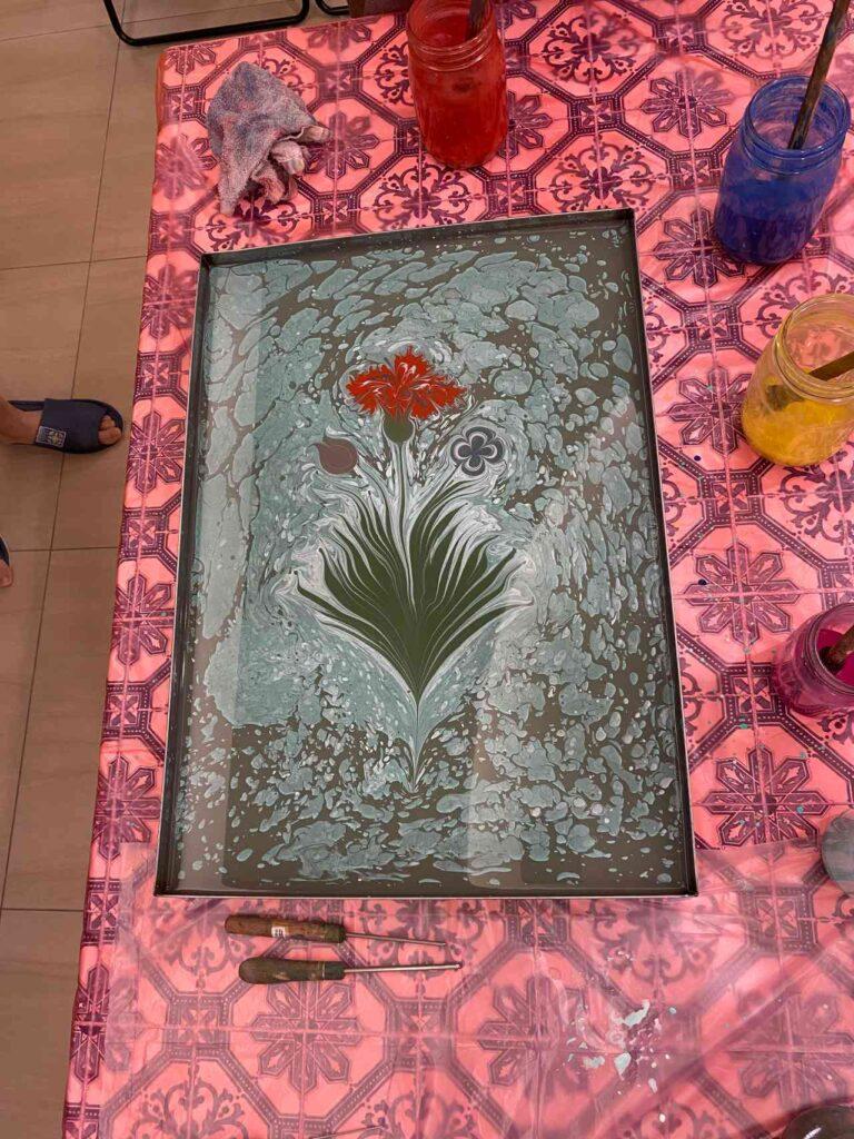Ebru Art 土耳其浮水畫