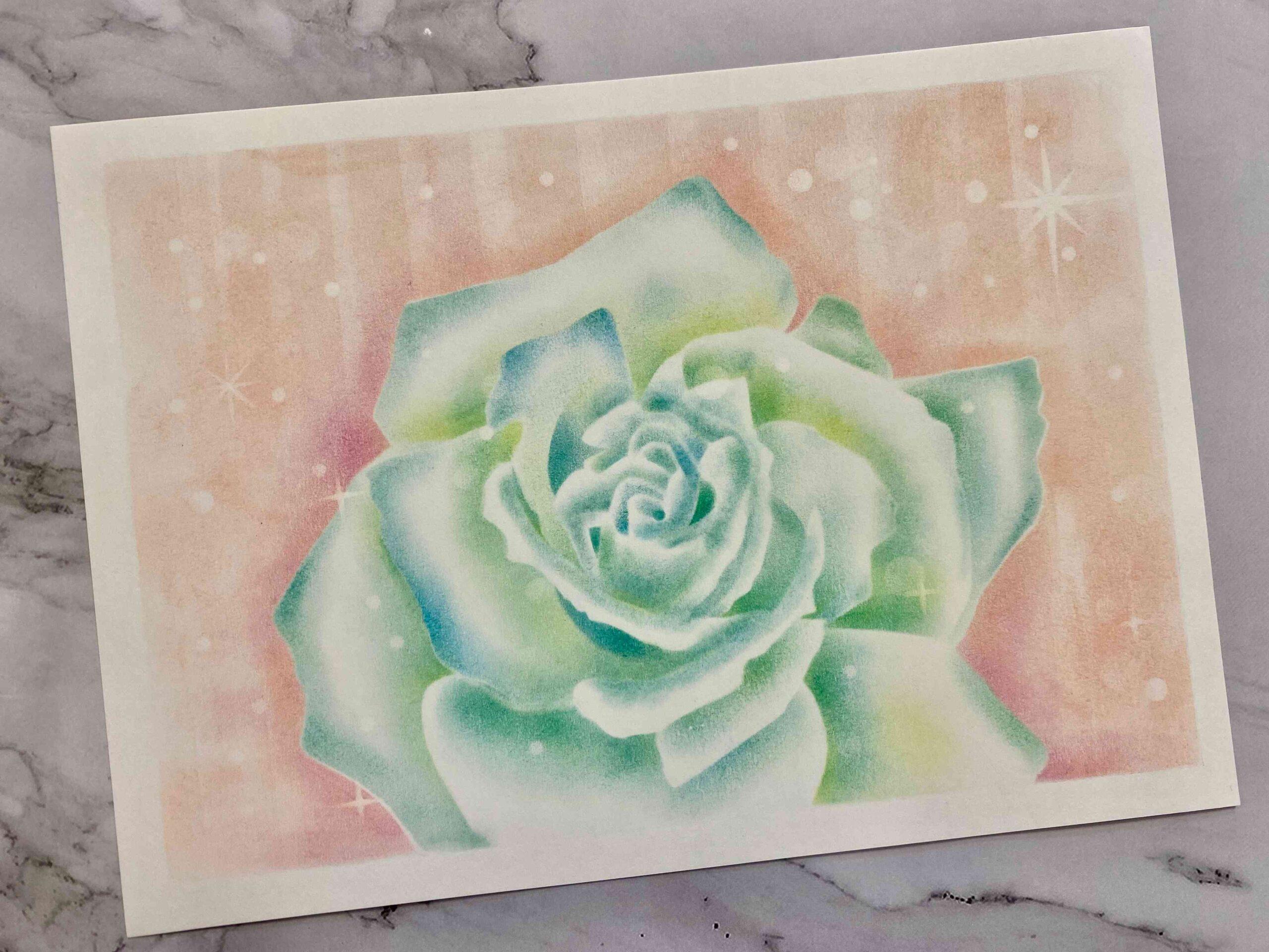 【粉彩】空氣玫瑰進階課程