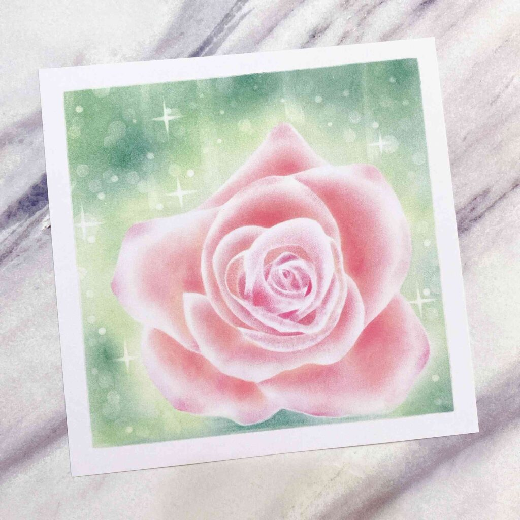 【粉彩】空氣玫瑰師資課程