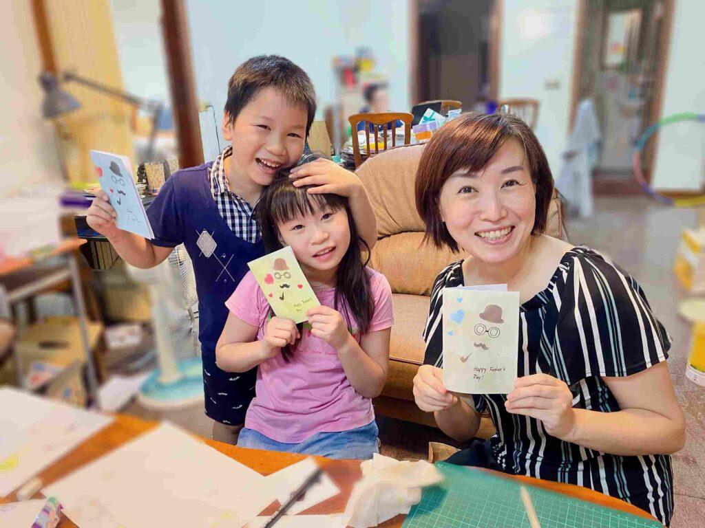 【和諧粉彩】與小朋友一起玩粉彩-父親節主題